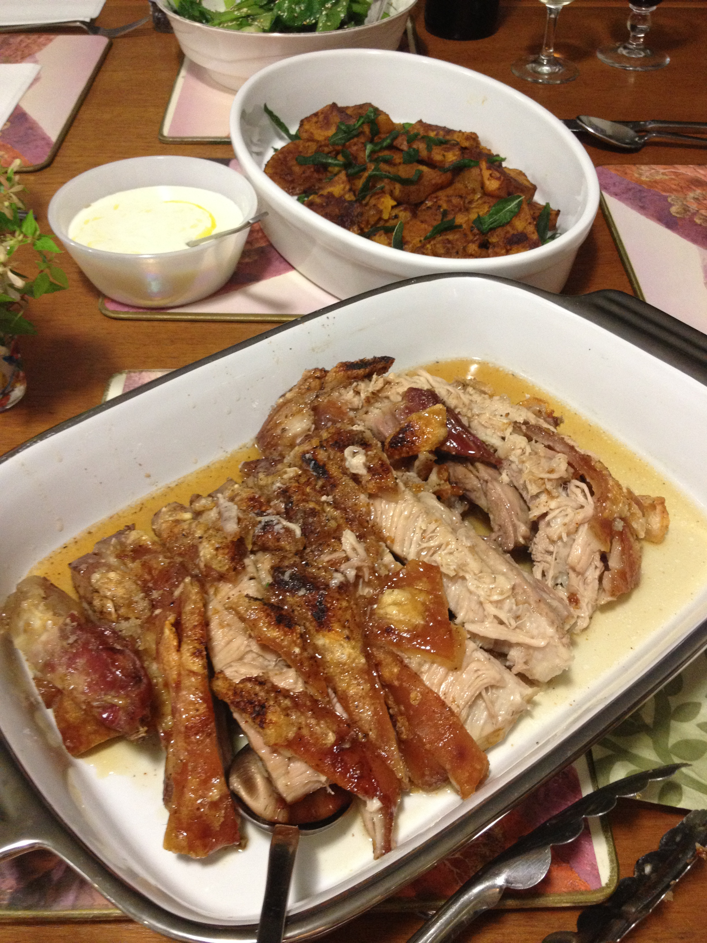 shoulder with savory apple gravy slow roasted pork with glazed pin it ...